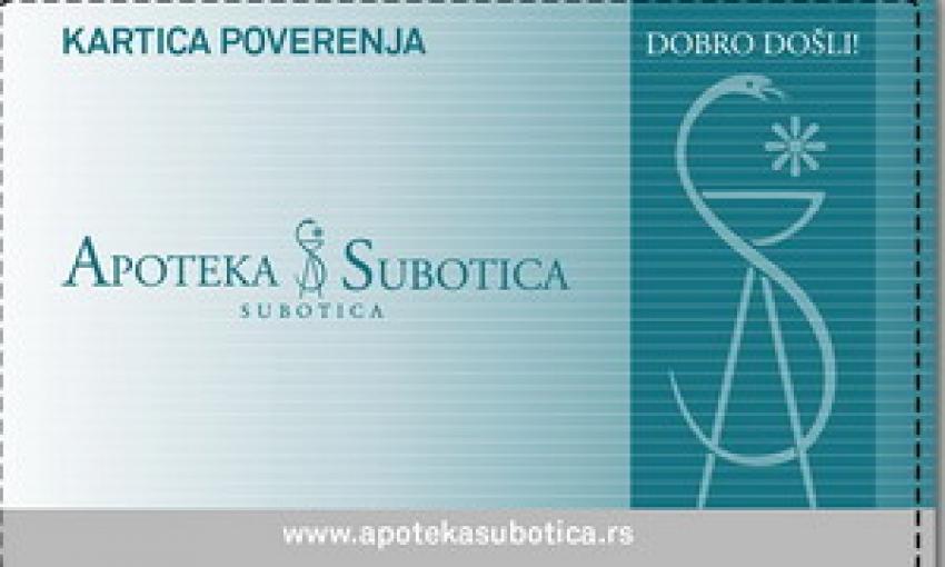 Kartica poverenja Apoteke Subotica