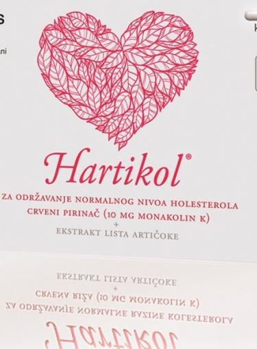 Uz dva kupljena Hartikola gratis vaučer za lipidni status