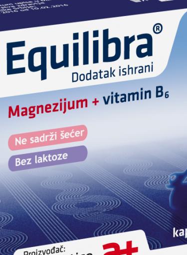 Equilibra - preparat magnezijuma sa jedinstvenim sastavom