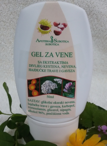 Gel za vene 50 ml