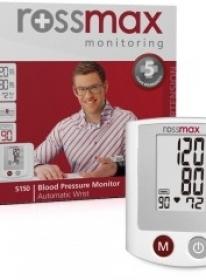 Akcija na Rossmax merač krvnog pritiska i dijagnostičku vagu