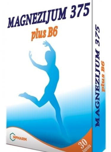 Magnum i Magnezijum 375 plus B6